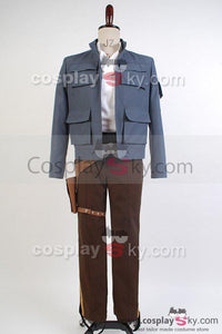 Star Wars: Empire Strikes Back Han Solo Jacket Pants Cosplay Costume