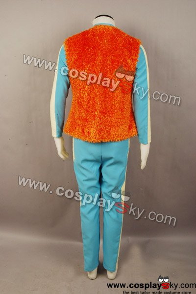 Star Wars Greedo Costume Jumpsuit Vest Cosplay