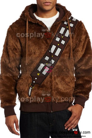 Star Wars I Am Chewie Chewbacca Furry Costume Hoodie Cosplay Jacket