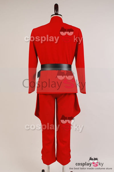Star Wars Imperial Officer Red Uniform Costume