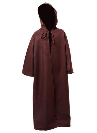 Star Wars Kenobi Jedi Cloak Cosplay Costume Child Version