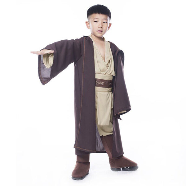 Star Wars Obi Wan Kenobi Jedi Child Halloween Cosplay Costume