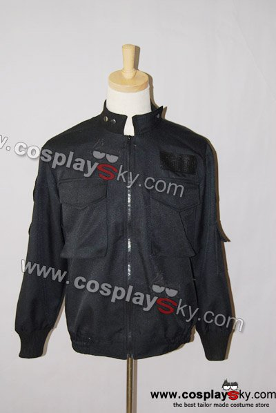 Stargate SG1 Black Uniform Jacket Costume