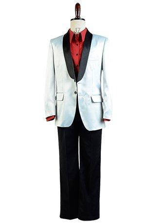 New Halloween Suicide Squad Jared Leto Joker Cosplay Costume Batman Outfit Suit