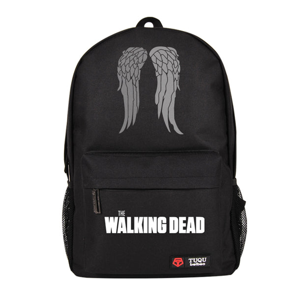 The Walking Dead Daryl Dixon Wings Backpack School Bag