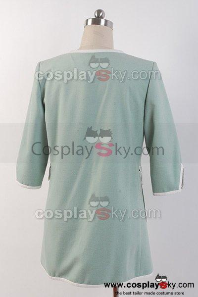 The Amazing Spider-Man 2 Gwen Stacy Green Coat Costume Cosplay