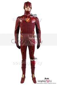 The Flash Barry Allen Red Cosplay Costume