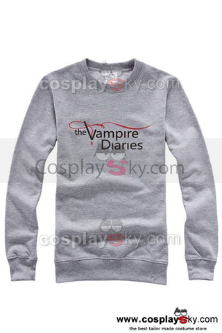 The Vampire Diaries Long Sleeve Shirt Jacket