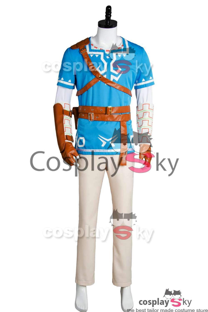 cadd41fc2 The Legend of Zelda: Breath of the Wild Link Cosplay Costume – New ...