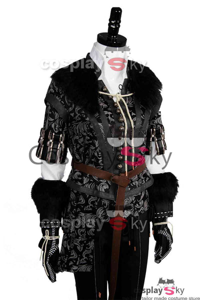 The Witcher 3 Wild Hunt Yennefer Outfit Cosplay Costume