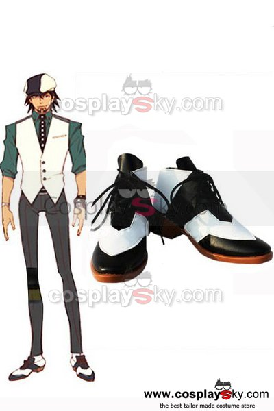 Tiger & Bunny Kotetsu T. Kaburagi Cosplay Shoes Boots Custom made