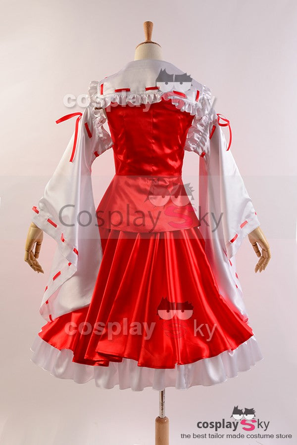 Touhou Project Reimu Hakurei Dress Cosplay Costume