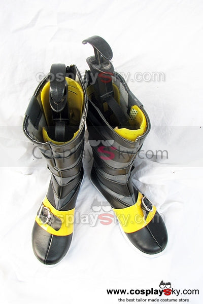 Tsukihime Ciel Cosplay Boots Shoes Black