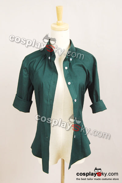 Twilight New Moon Bella Green Button Down Shirt
