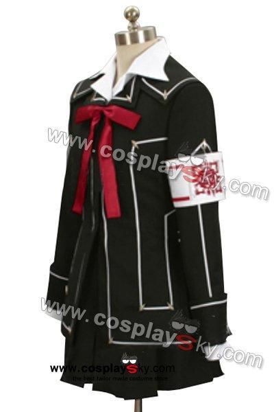 Vampire Knight Day Class Girl Kurosu Yuuki Cosplay Costume
