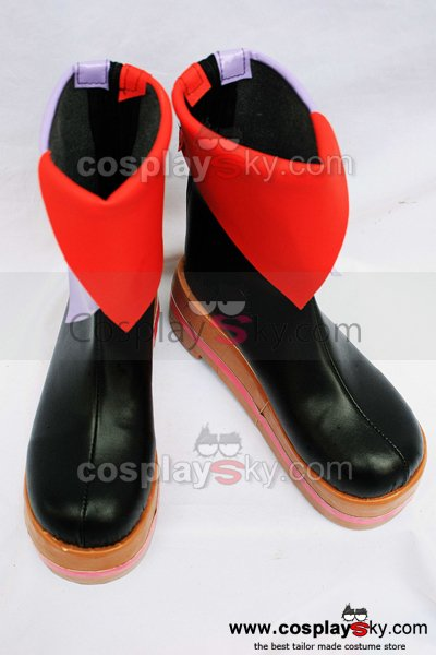 Vocaloid 2 Megurine Luka Cosplay Boots Shoes