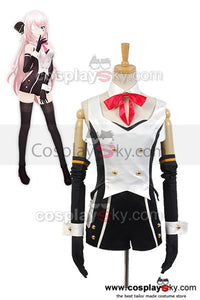 Vocaloid Hatsune Miku Project DIVA-f 2nd LUKA Uniform Cosplay Costume