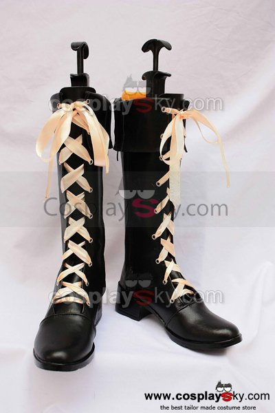 Vocaloid Miki Cosplay Boots Shoes