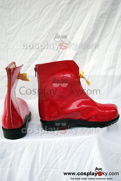 Vocaloid Miku Cosplay Boots Shoes Custom-Made
