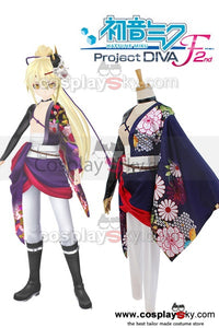 Vocaloid Project DIVA-F 2nd Hatsune Miku Knife Cosplay Costume