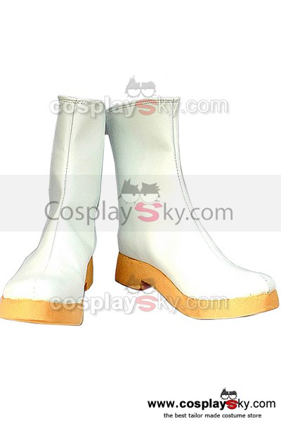 Vocaloid Rin Cosplay Boots White Shoes Custom Made