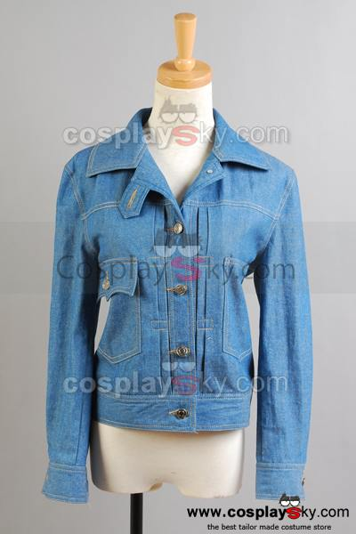 Doctor Who Fear Her Rose Denim Jacket Costume