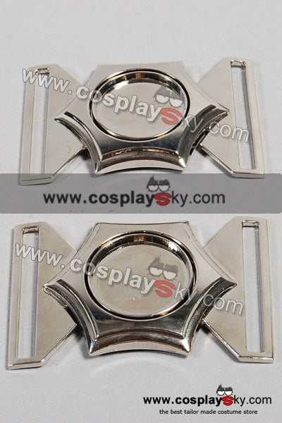 X-men First Class Costume Belt Buckle Pin Set