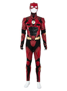 Justice League 2017 Movie Barry Allen Flash Outfit Halloween Cosplay Costume