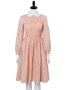 Stranger Things Eleven Millie Bobby Brown Dress Cosplay Costume