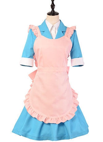 Danganronpa 3: The End of Hope's Peak Academy - Side: Despair Chisa Yukizome Maid Suit Cosplay Cost