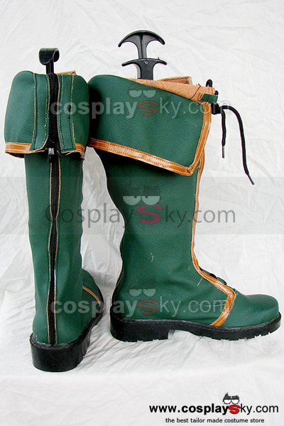 Ys Origin Dino Cosplay Boots Shoes Custom Made