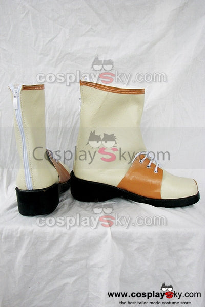 Ys Origin White Cosplay Boots Shoes Custom Made