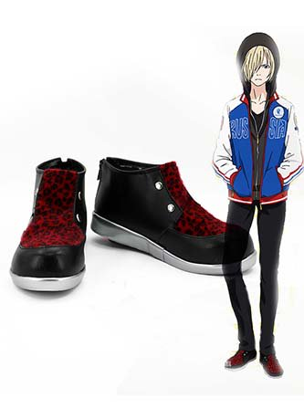 Yuri on Ice Yuri Plisetsky Shoes Cosplay Shoes