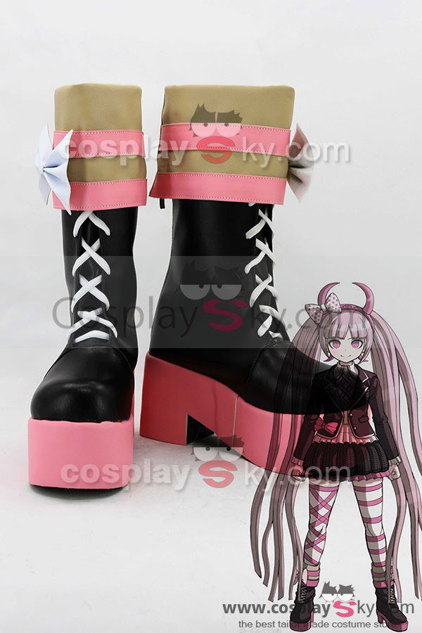 Zettai Zetsub? Sh?jo: Danganronpa AnotherEpisode Kotoko Utsugi Boots Cosplay Shoes