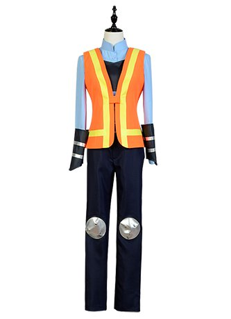 Zootopia Rabbit Judy Traffic Police Uniform Cosplay Costume