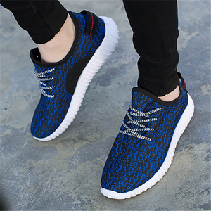 Men Women Lover Mesh Breathable Pattern Slip On Outdoor Casual Sport Running Shoes