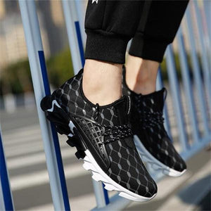 Men Light Breathable Soft Running Sneakers