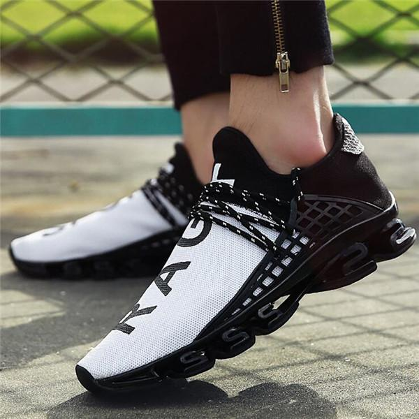 Large Size Men Mesh Breathable Sports Running Shoes