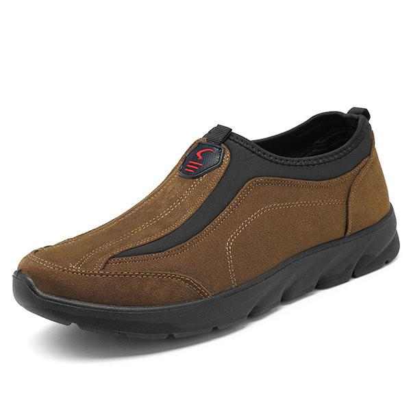 Large Size Men Canvas Comfortable Outdoor Walking Shoes