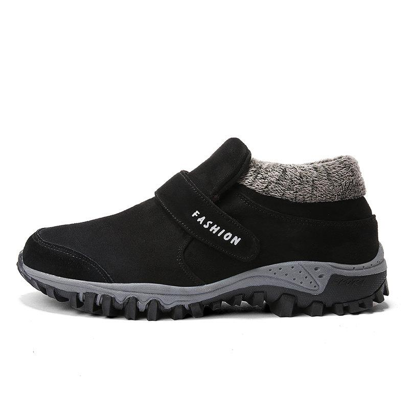 Large Size Men Slip Resistant Warm Lining Casual Outdoor Sneakers