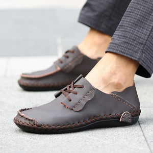 Large Size  Men Casual Shoes Fashion Breathable  Flats Shoes