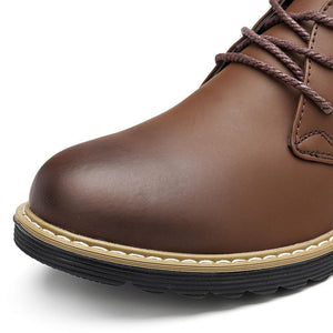 Men Vintage Lace Up Outdoor Casual Desert Boots