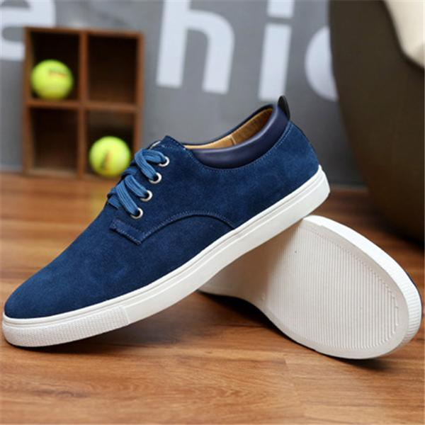 Men's Plus Size Casual Shoes Leather Suede Shoes