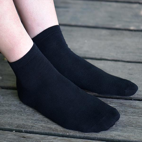 Men Cotton Pure color Socks
