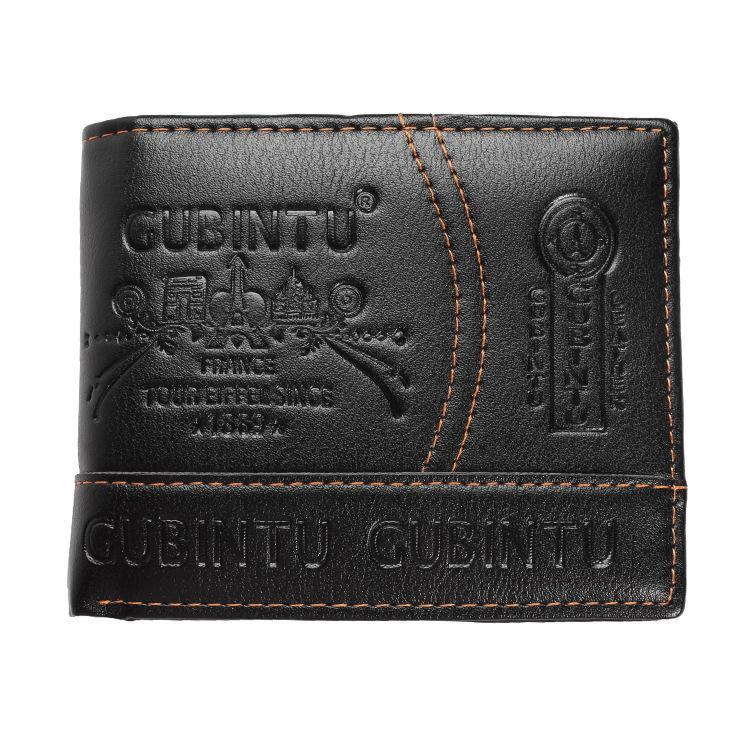 Men's Fashion Leather Short Wallet