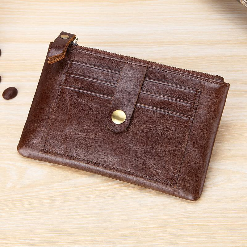 Men's Genuine Leather Multifunction Wallet