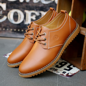 Large Size Men Casual Lace Up Leather Fashion Formal Oxford Shoes