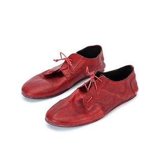 Men Goodyear Handmade Leather Outsole Casual Retro Shoes