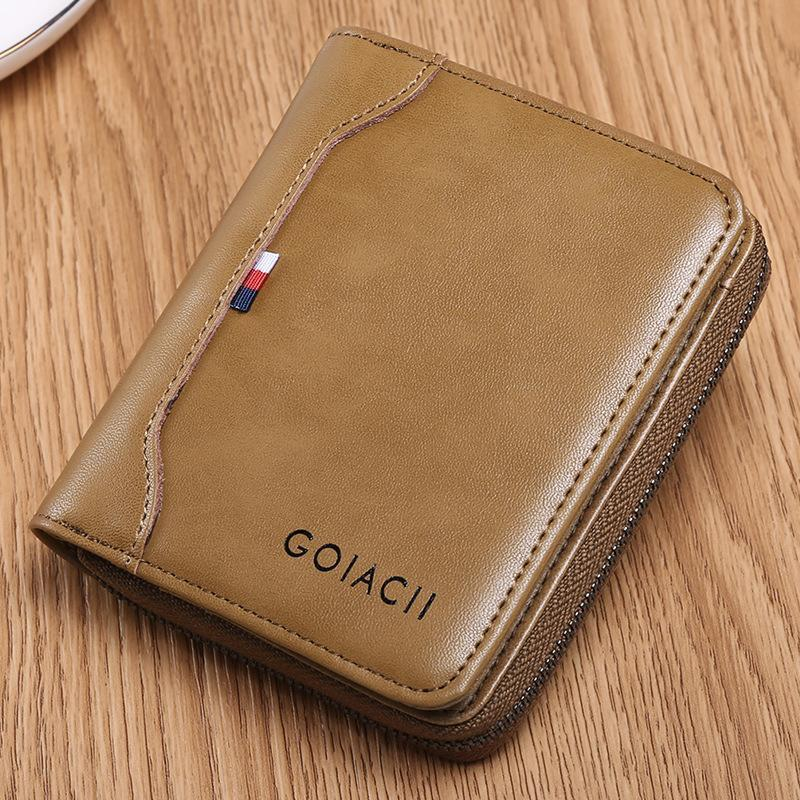 Men's Genuine Leather Retro Wallet
