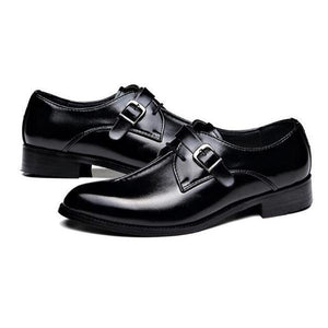 Business Large Wear Resistant Breathable Leather Shoes